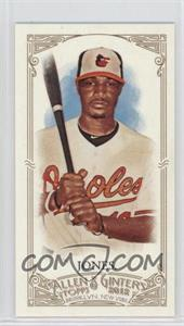 2012 Topps Allen & Ginter's - [Base] - Minis Red Allen & Ginter Baseball Back #224 - Adam Jones /25