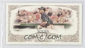2012 Topps Allen & Ginter's - [Base] - Minis Red Allen & Ginter Baseball Back #76 - Michael Bourn /25