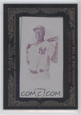 2012 Topps Allen & Ginter's - [Base] - Printing Plate Minis Magenta Framed #392 - Curtis Granderson /1