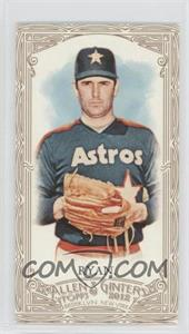 2012 Topps Allen & Ginter's - [Base] - Retail Minis Gold Border #345 - Nolan Ryan