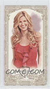 2012 Topps Allen & Ginter's - [Base] - Retail Minis Gold Border #75 - Erin Andrews