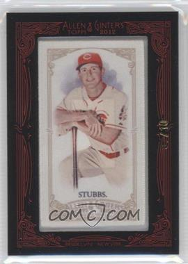 2012 Topps Allen & Ginter's - [Base] - Silk Mini Framed #DRST - Drew Stubbs /10
