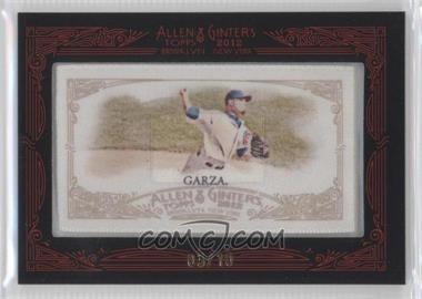 2012 Topps Allen & Ginter's - [Base] - Silk Mini Framed #MAGA - Matt Garza /10