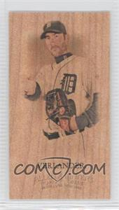 2012 Topps Allen & Ginter's - [Base] - Wood Minis #376 - Justin Verlander /1