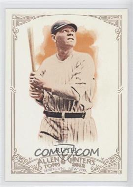 2012 Topps Allen & Ginter's - [Base] #176 - Babe Ruth