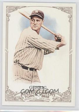 2012 Topps Allen & Ginter's - [Base] #196 - Lou Gehrig