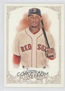 2012 Topps Allen & Ginter's - [Base] #331 - Carl Crawford