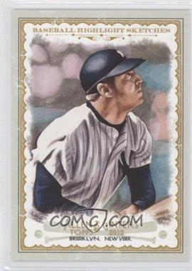 2012 Topps Allen & Ginter's - Baseball Highlight Sketches #BH-14 - Mickey Mantle