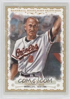 2012 Topps Allen & Ginter's - Baseball Highlight Sketches #BH-17 - Cal Ripken Jr.