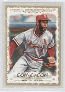 2012 Topps Allen & Ginter's - Baseball Highlight Sketches #BH-18 - Ozzie Smith