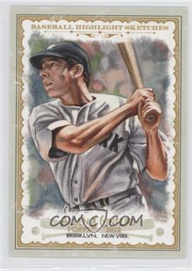 2012 Topps Allen & Ginter's - Baseball Highlight Sketches #BH-22 - Joe DiMaggio
