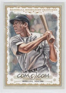 2012 Topps Allen & Ginter's - Baseball Highlight Sketches #BH-22 - Joe DiMaggio