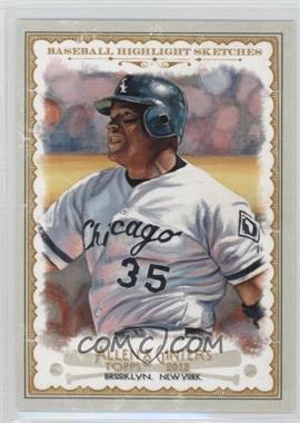2012 Topps Allen & Ginter's - Baseball Highlight Sketches #BH-6 - Frank Thomas