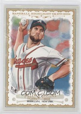 2012 Topps Allen & Ginter's - Baseball Highlight Sketches #BH-7 - John Smoltz