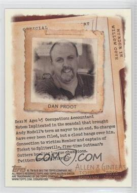 2012 Topps Allen & Ginter's - Code Cards #N/A - Dan Proot