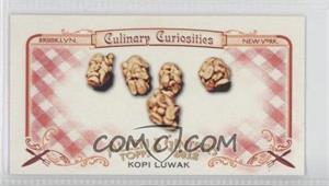 2012 Topps Allen & Ginter's - Culinary Curiosities Minis #CC3 - Kopi Luwak