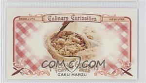 2012 Topps Allen & Ginter's - Culinary Curiosities Minis #CC4 - Casu Marzu