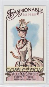 2012 Topps Allen & Ginter's - Fashionable Ladies Minis #FL-5 - The Bustle