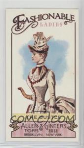 2012 Topps Allen & Ginter's - Fashionable Ladies Minis #FL-5 - The Bustle