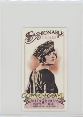 2012 Topps Allen & Ginter's - Fashionable Ladies Minis #FL-9 - The Ingenue