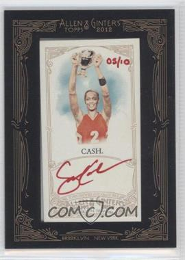2012 Topps Allen & Ginter's - Framed Mini Autographs - Red Ink [Autographed] #AGA-SCA - Swin Cash /10