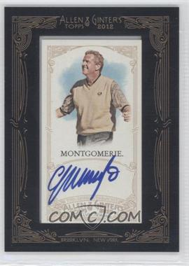 2012 Topps Allen & Ginter's - Framed Mini Autographs #AGA-CMO - Colin Montgomerie