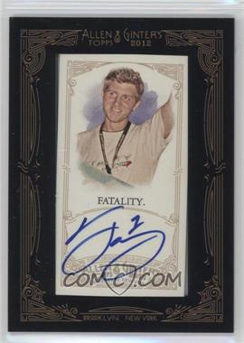2012 Topps Allen & Ginter's - Framed Mini Autographs #AGA-FT1 - Fatal1ty