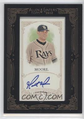 2012 Topps Allen & Ginter's - Framed Mini Autographs #AGA-MM - Matt Moore