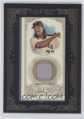 2012 Topps Allen & Ginter's - Framed Mini Relics #AGR-AM - Andrew McCutchen