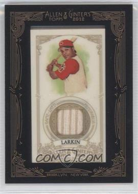 2012 Topps Allen & Ginter's - Framed Mini Relics #AGR-BL - Barry Larkin