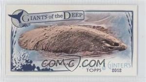 2012 Topps Allen & Ginter's - Giants of the Deep Minis #GD-12 - Minke Whale