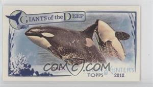 2012 Topps Allen & Ginter's - Giants of the Deep Minis #GD-9 - Orca