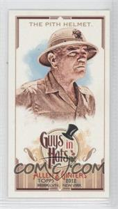 2012 Topps Allen & Ginter's - Guys in Hats Minis #GH-5 - The Pith Helmet