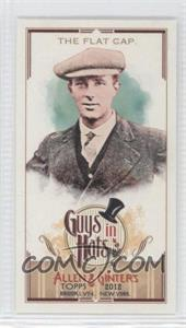 2012 Topps Allen & Ginter's - Guys in Hats Minis #GH-8 - The Flat Cap