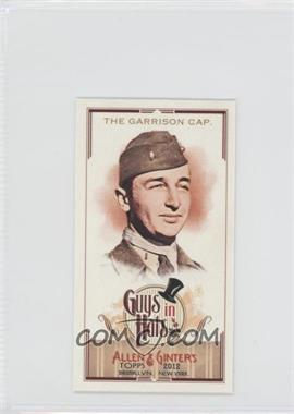 2012 Topps Allen & Ginter's - Guys in Hats Minis #GH-9 - The Garrison Cap