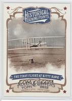 The First Flight of Kitty Hawk