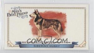 2012 Topps Allen & Ginter's - Man's Best Friend Minis #MBF-1 - Siberian Husky