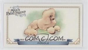 2012 Topps Allen & Ginter's - Man's Best Friend Minis #MBF-10 - Poodle
