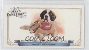2012 Topps Allen & Ginter's - Man's Best Friend Minis #MBF-16 - Saint Bernard