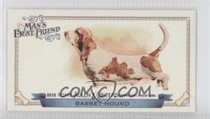 2012 Topps Allen & Ginter's - Man's Best Friend Minis #MBF-19 - Basset Hound