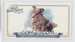 2012 Topps Allen & Ginter's - Man's Best Friend Minis #MBF-20 - Shetland Sheepdog