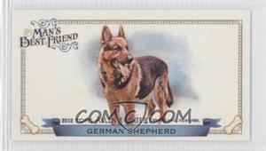 2012 Topps Allen & Ginter's - Man's Best Friend Minis #MBF-4 - German Shepherd