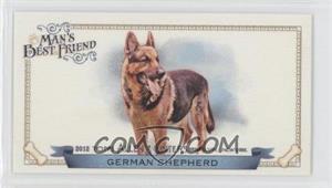2012 Topps Allen & Ginter's - Man's Best Friend Minis #MBF-4 - German Shepherd