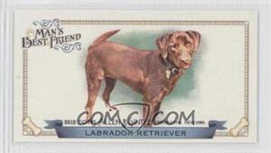 2012 Topps Allen & Ginter's - Man's Best Friend Minis #MBF-8 - Labrador Retriever