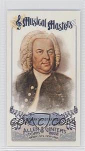2012 Topps Allen & Ginter's - Musical Masters Minis #MM-1 - Johann Sebastian Bach