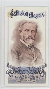 2012 Topps Allen & Ginter's - Musical Masters Minis #MM-15 - Giuseppe Verdi