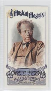 2012 Topps Allen & Ginter's - Musical Masters Minis #MM-16 - Gustav Mahler