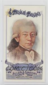 2012 Topps Allen & Ginter's - Musical Masters Minis #MM-2 - Wolfgang Amadeus Mozart