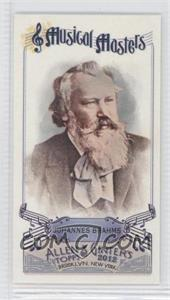 2012 Topps Allen & Ginter's - Musical Masters Minis #MM-6 - Johannes Brahms