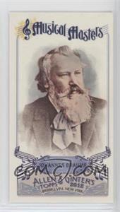 2012 Topps Allen & Ginter's - Musical Masters Minis #MM-6 - Johannes Brahms